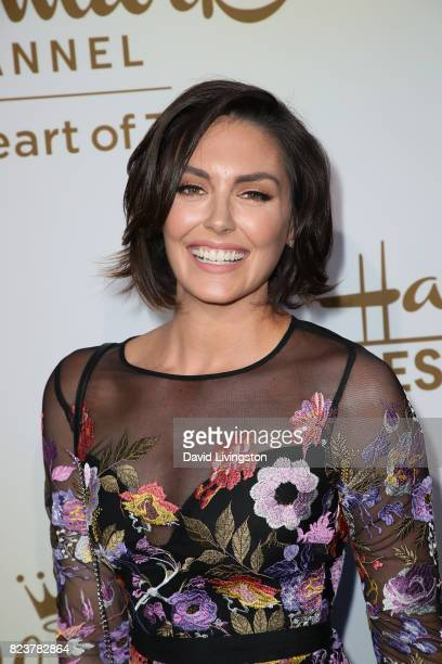 Actress Taylor Cole attends the Hallmark Channel and Hallmark Movies and Mysteries 2017 Summer TCA Tour on July 27 2017 in Beverly Hills California