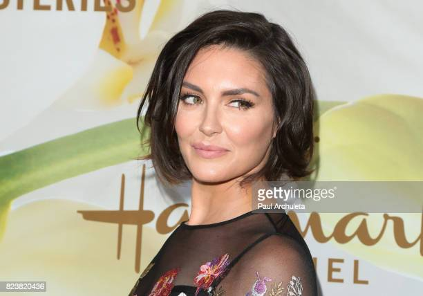 Actress Taylor Cole attends the Hallmark Channel And Hallmark Movies And Mysteries 2017 Summer TCA Tour at on July 27 2017 in Beverly Hills California