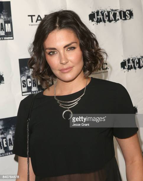 Actress Taylor Cole attends the Los Angeles Premiere of Jackals on August 29 2017 in Hollywood California