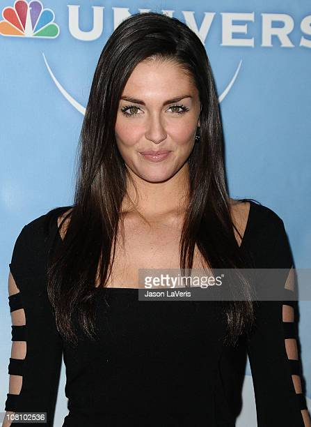 Actress Taylor Cole attends the NBC Universal press tour allstar party at The Langham Huntington Hotel and Spa on January 13 2011 in Pasadena...