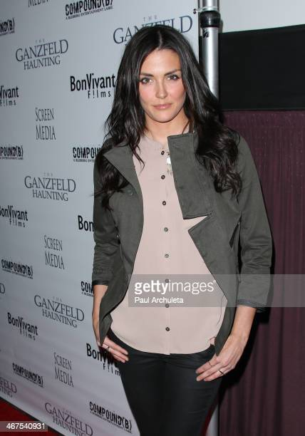 Actress Taylor Cole attends the premiere of Ganzfeld Haunting at the Laemmle Theaters in Beverly Hills on February 6 2014 in Beverly Hills California
