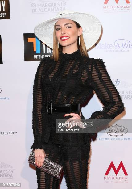 Actress Taylor Cole attends the trophy celebration benefiting the MakeAWish Foundation on February 11 2018 in Los Angeles California