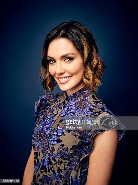 Actress Taylor Cole is photographed at the Hallmark Channel Summer 2016 TCA on July 27 2016 in Los Angeles California