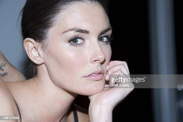 Actress Taylor Cole poses at a portrait session for Self Assignment in Los Angeles California on November 10 2010