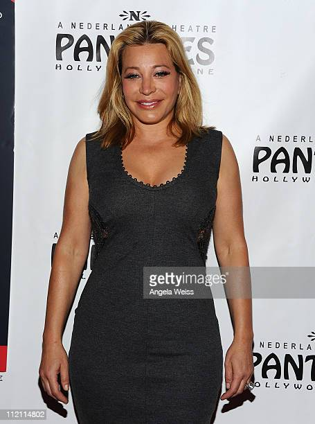 Actress Taylor Dayne arrives at the opening night of 'Rain A Tribute To The Beatles' at the Pantages Theatre on April 12 2011 in Hollywood California