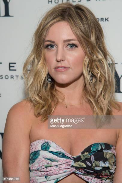 Actress Taylor Louderman attends the 2018 Tony Honors For Excellence In The Theatre and 2018 Special Award Recipients Cocktail Party at the Sofitel...