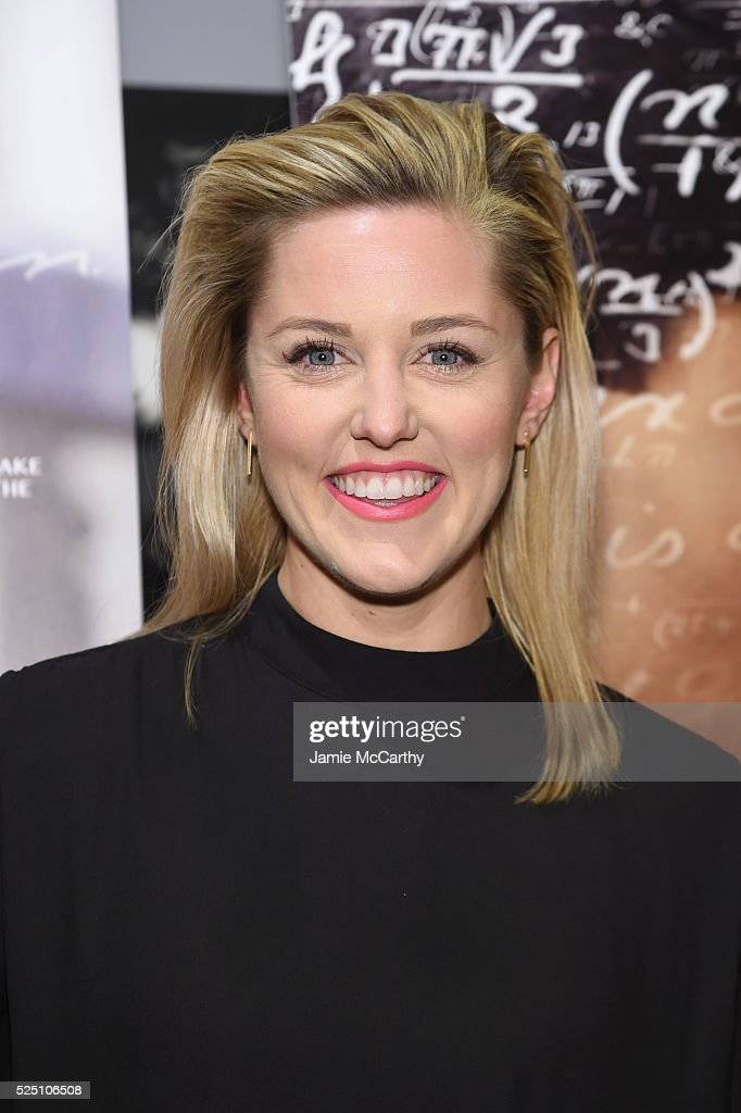 Actress Taylor Louderman attends 'The Man Who Knew Infinity' New York Screening at Chelsea Bow Tie Cinemas on April 27, 2016 in New York City.