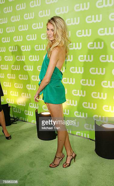 Actress Taylor Momsen arrives to The CW Summer Tour Party at the Pacific Design Center on July 20 2007 in West Hollywood California