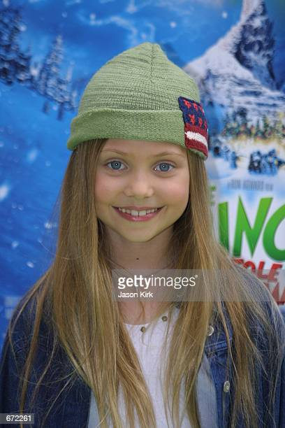 Actress Taylor Momsen attends a celebration of the VHS/DVD launch of 'Dr Seuss'' How The Grinch Stole Christmas' as well as 'The Grinch's Heart Just...