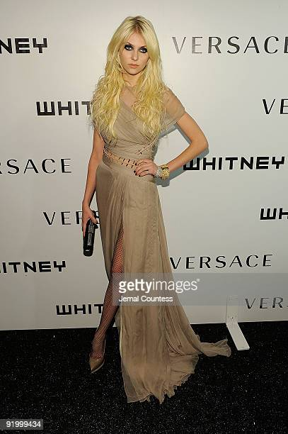 Actress Taylor Momsen attends the 2009 Whitney Museum Gala at The Whitney Museum of American Art on October 19 2009 in New York City