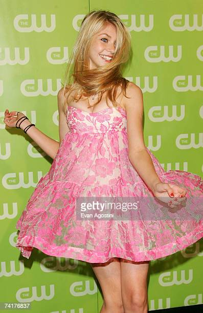Actress Taylor Momsen attends the CW Network Upfront at Madison Square Garden May 17 2006 in New York City