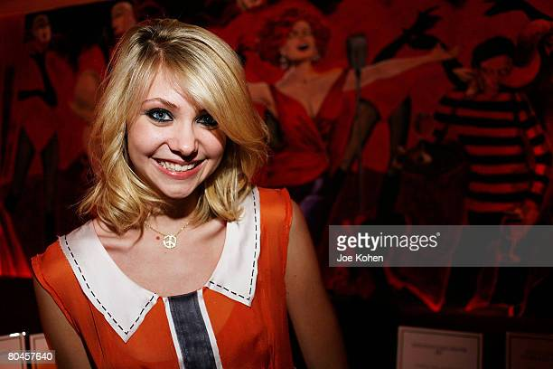 NEW YORK MARCH 27 Actress Taylor Momsoen attend the Hero A United Nations Association Campaign Benefit Cocktail Party on March 27 2008 in New York...