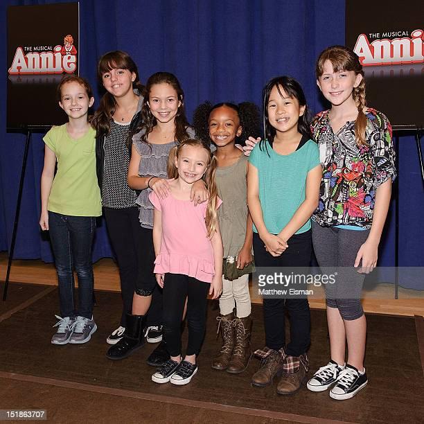 Actress Taylor Richardson, actress Georgi James, actress Madi Rae DiPietro, actress Emily Rosenfeld, actress Tyrah Skye Odoms, actress Junah Jang and...