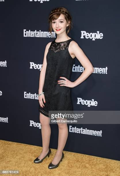 Actress Taylor Richardson attends Entertainment Weekly People New York Upfronts at 849 6th Ave on May 15 2017 in New York City