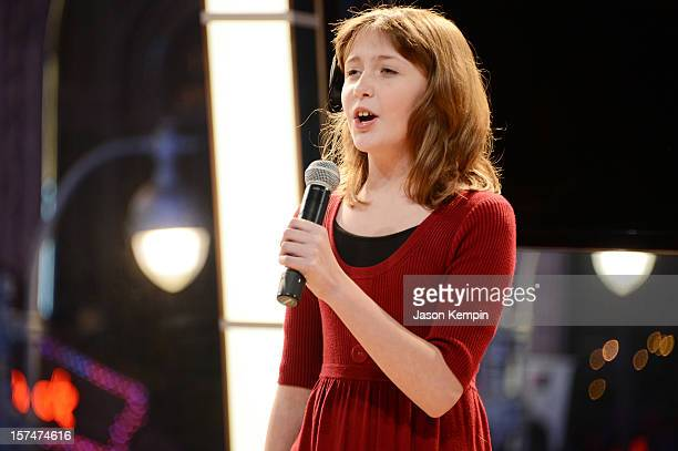 Actress Taylor Richardson performs at The American Fertility Association's Illuminations NYC 2012 on December 3 2012 in New York City