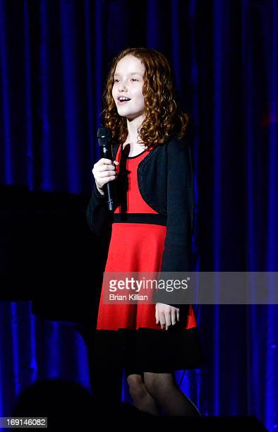 Actress Taylor Richardson performs during the Manhattan Theatre Club 2013 Spring Gala at Cipriani 42nd Street on May 20 2013 in New York City