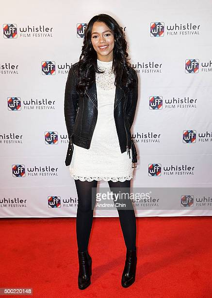 Actress Taylor Russell attends the 15th Annual Film Festival at Whistler Conference Centre on December 5 2015 in Whistler Canada