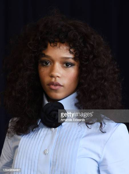 Actress Taylor Russell attends the 2020 Film Independent Spirit Awards on February 08 2020 in Santa Monica California