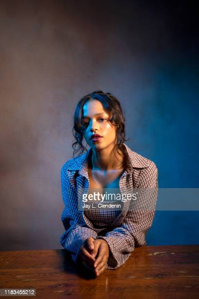 Actress Taylor Russell from 'Waves' is photographed for Los Angeles Times on September 10 2019 at the Toronto International Film Festival in Toronto...