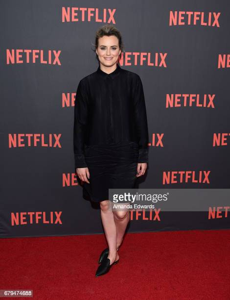 Actress Taylor Schilling arrives at Netflix's 'Orange Is The New Black' For Your Consideration Event at the Saban Media Center on May 5 2017 in North...