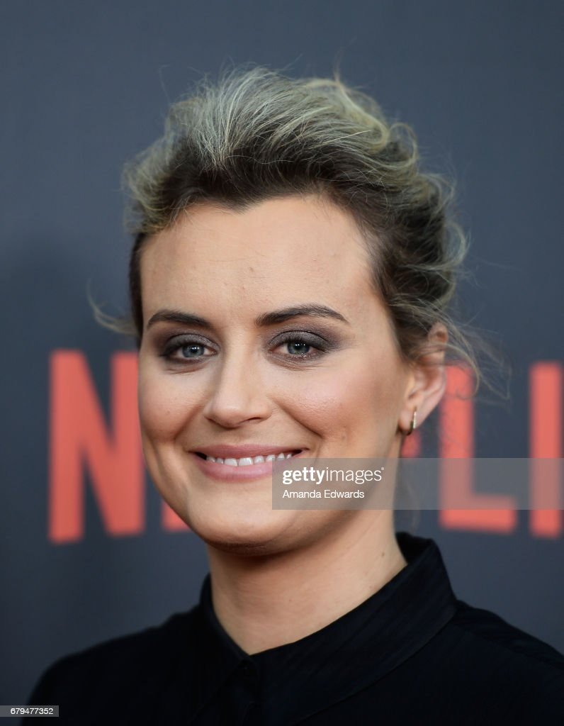 Actress Taylor Schilling arrives at Netflix's 'Orange Is The New Black' For Your Consideration Event at the Saban Media Center on May 5, 2017 in North Hollywood, California.