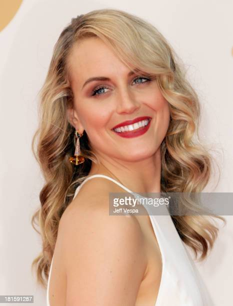 Actress Taylor Schilling arrives at the 65th Annual Primetime Emmy Awards held at Nokia Theatre LA Live on September 22 2013 in Los Angeles California