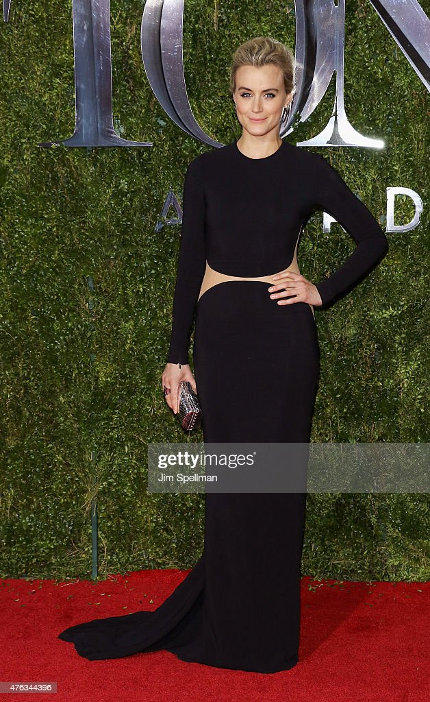 Actress Taylor Schilling attends American Theatre Wing's 69th Annual Tony Awards at Radio City Music Hall on June 7, 2015 in New York City.