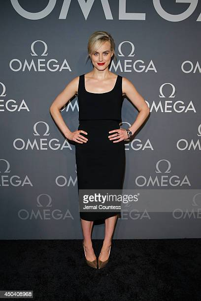 Actress Taylor Schilling attends OMEGA Speedmaster Dark Side of the Moon on June 10 2014 in New York City