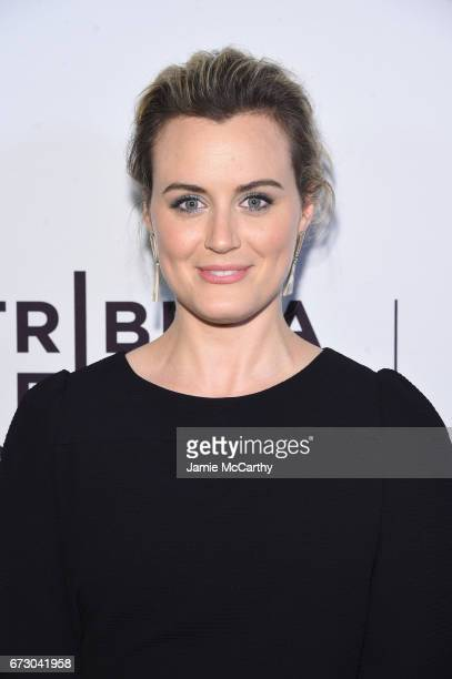Actress Taylor Schilling attends Take Me Premiere during the 2017 Tribeca Film Festival at SVA Theater on April 25 2017 in New York City