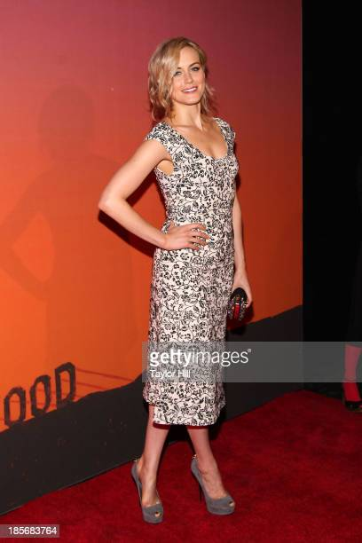 Actress Taylor Schilling attends the 2013 Whitney Gala and Studio party at Skylight at Moynihan Station on October 23, 2013 in New York City.