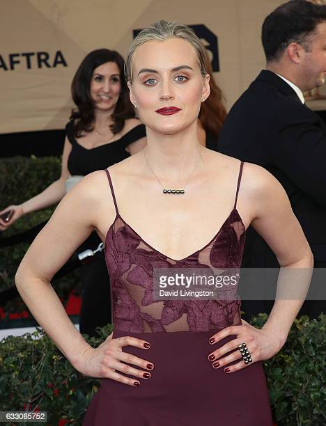 Actress Taylor Schilling attends the 23rd Annual Screen Actors Guild Awards at The Shrine Expo Hall on January 29 2017 in Los Angeles California