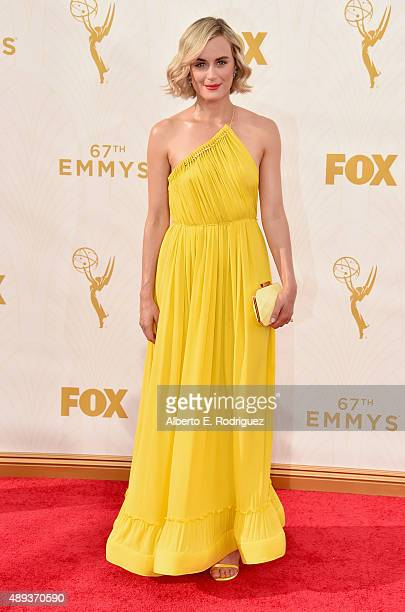 Actress Taylor Schilling attends the 67th Emmy Awards at Microsoft Theater on September 20 2015 in Los Angeles California 25720_001
