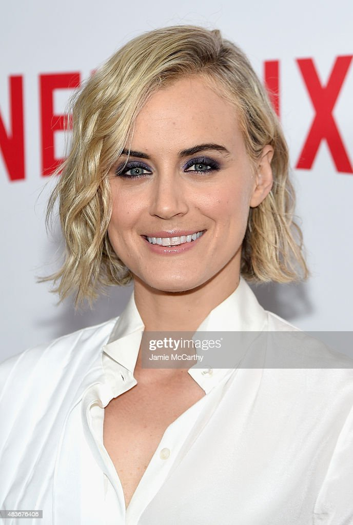 Actress Taylor Schilling attends the 'Orange Is The New Black' FYC screening at DGA Theater on August 11, 2015 in New York City.