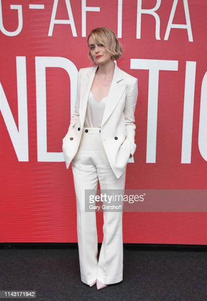 Actress Taylor Schilling attends the SAGAFTRA Foundation Conversations 'Family' at The Robin Williams Center on April 16 2019 in New York City