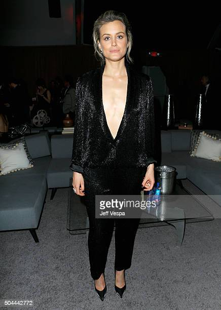 Actress Taylor Schilling attends The Weinstein Company and Netflix Golden Globe Party presented with DeLeon Tequila Laura Mercier Lindt Chocolate...