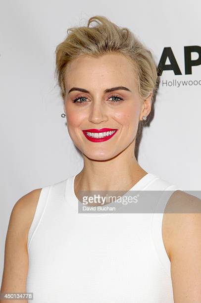 Actress Taylor Schilling attends TheWrap's First Annual Emmy Party at The London West Hollywood on June 5 2014 in West Hollywood California