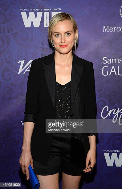 Actress Taylor Schilling attends Variety and Women in Film Emmy Nominee Celebration powered by Samsung Galaxy on August 23 2014 in West Hollywood...