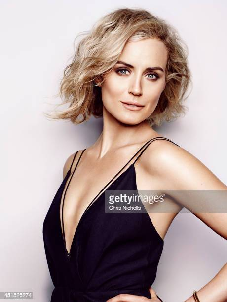 Actress Taylor Schilling is photographed for Glow Magazine on June 1 2014 in Los Angeles California Cover Image