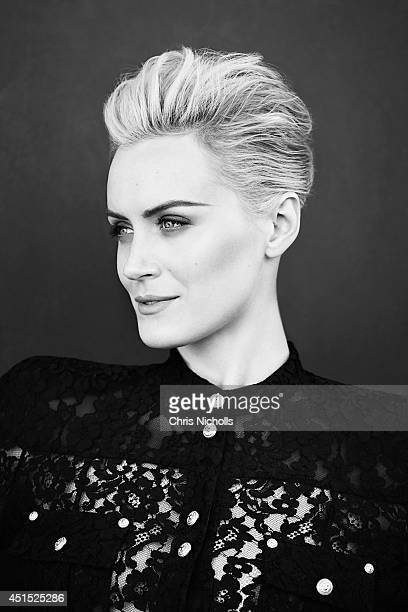 Actress Taylor Schilling is photographed for Glow Magazine on June 1 2014 in Los Angeles California Published Image