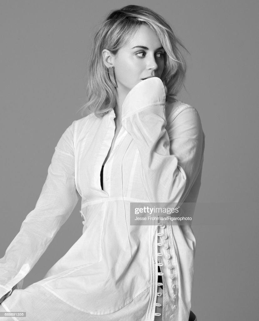 Taylor Schilling, Madame Figaro, April 28, 2017 : News Photo