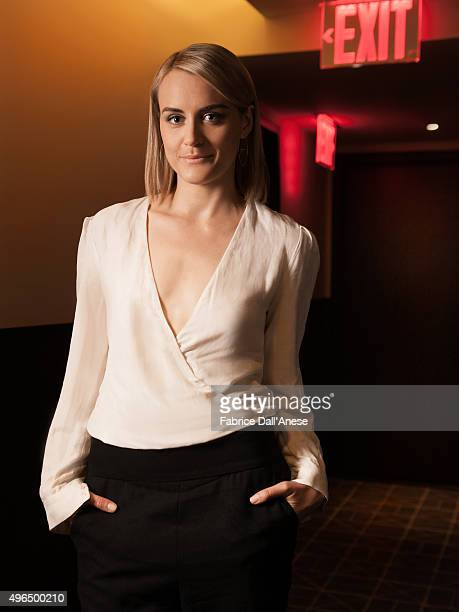 Actress Taylor Schilling is photographed for Vanity Faircom on April 15 2015 in New York