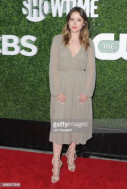 Actress Taylor Spreitler arrives at CBS CW Showtime Summer TCA Party at Pacific Design Center on August 10 2016 in West Hollywood California