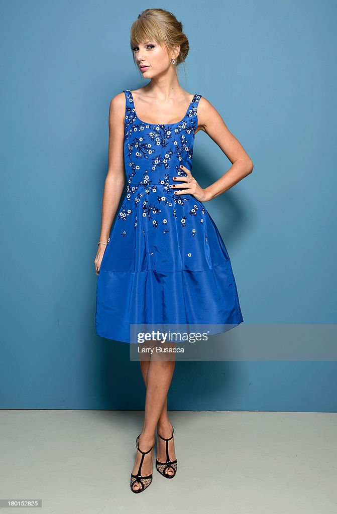 Actress Taylor Swift of 'One Chance' poses at the Guess Portrait Studio during 2013 Toronto International Film Festival on September 9, 2013 in Toronto, Canada.