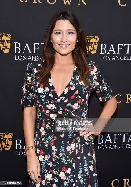 Actress Taylor Treadwell attends the BAFTALA Summer Garden Party at The British Residence on August 19 2018 in Los Angeles California