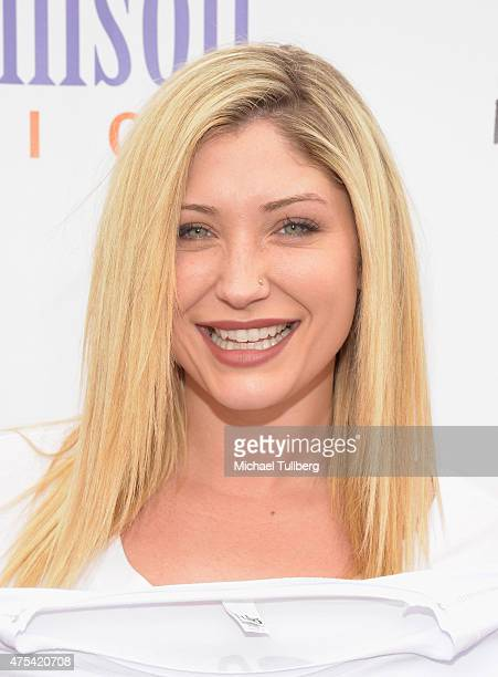 Actress TaylorAnn Hasselhoff attends the 5th Annual Pedal On The Pier charity event benefiting Los Angeles disadvantaged youth at Santa Monica Pier...