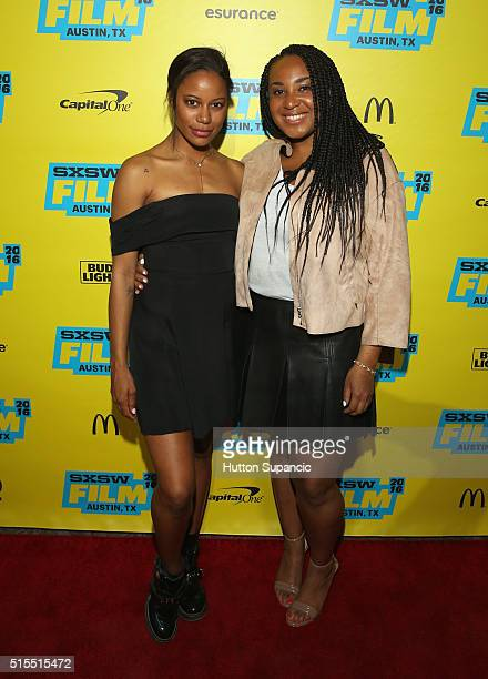 Actress Taylour Paige and director Stella Meghie attend the premiere of Jean of the Joneses during the 2016 SXSW Music Film Interactive Festival at...