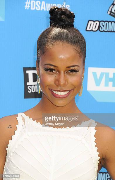 Actress Taylour Paige arrives at the DoSomethingorg and VH1's 2013 Do Something Awards at Avalon on July 31 2013 in Hollywood California