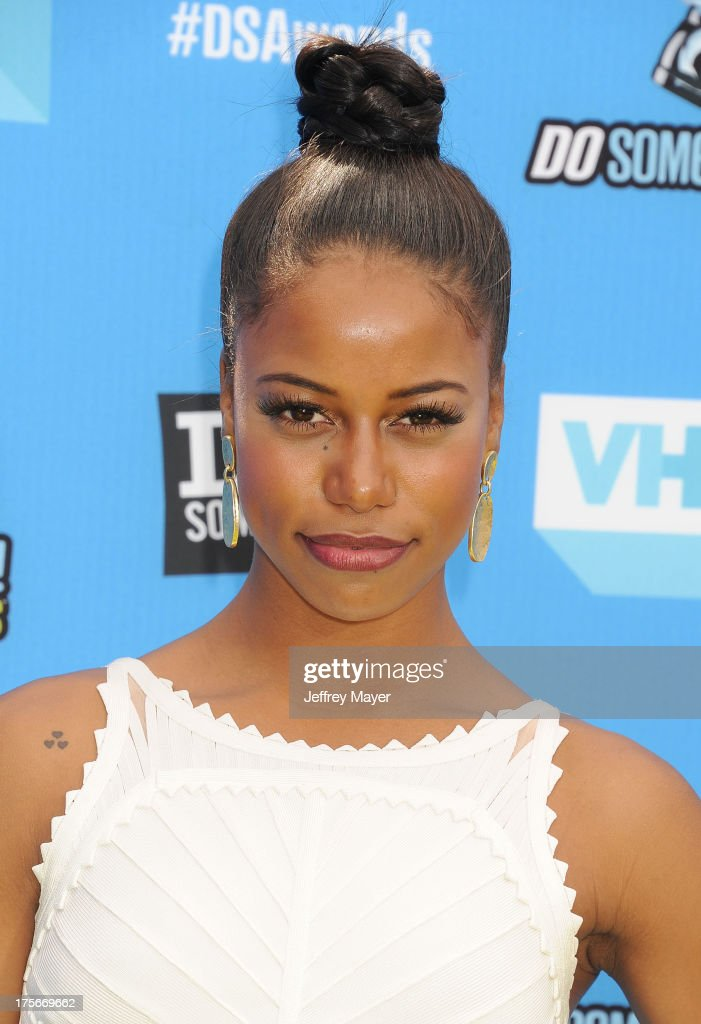 Actress Taylour Paige arrives at the DoSomething.org and VH1's 2013 Do Something Awards at Avalon on July 31, 2013 in Hollywood, California.