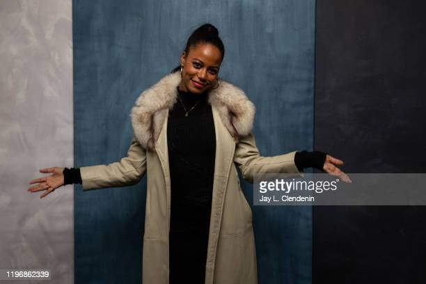 Actress Taylour Paige from 'Zola' is photographed in the LA Times Studio at the Sundance Film Festival on January 25 2020 in Park City Utah PUBLISHED...