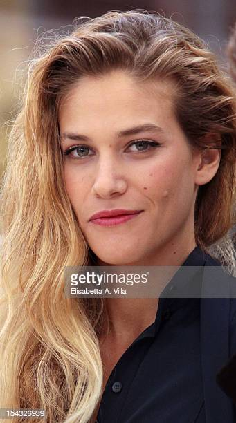 Actress Tea Falco attends 'Io e Te' photocall at Visconti Palace Hotel on October 18 2012 in Rome Italy